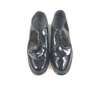 Bates Men's Black Police Shoes 14